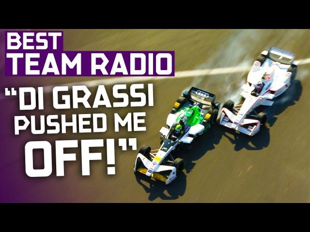 He Hit Me Twice Best Team Radio Mexico City Round 5 ABB Formula E