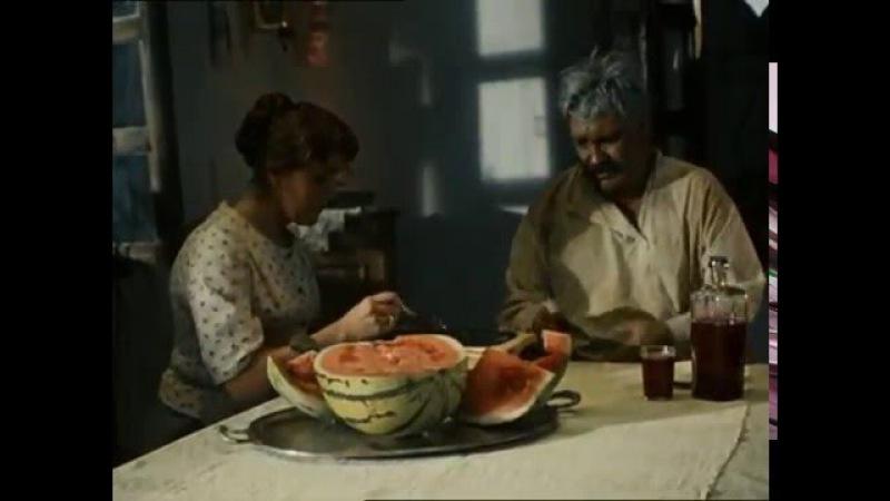 Павел Луспекаев Верещагин ест чёрную икру