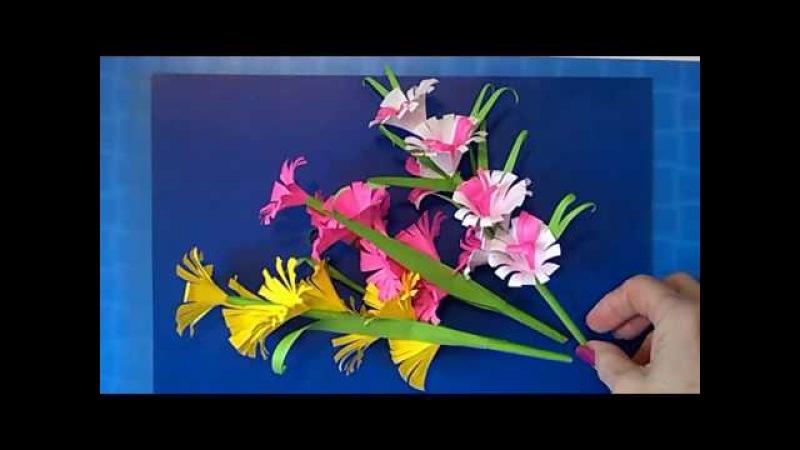 🎁 Как Сделать Подарок Маме Учителю своими руками День Матери 8 Марта.МК Цветок Из Бумаги Поделки