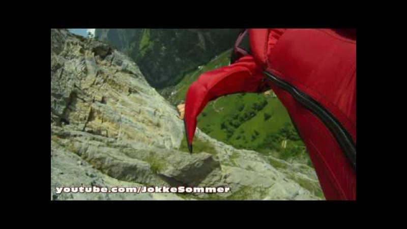 Wingsuit proximity flying in Switzerland and Norway - By Jokke Sommer
