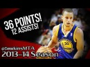 Stephen Curry Full Highlights 2014.01.02 at Heat - 36 Pts, 12 Assists!.mp4