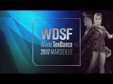 Evgeny Sveridonov - Angelina Barkova, RUS | 2017 World 10D | R1 W | DanceSport Total