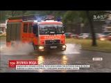 Потужна злива в Берлн затопила клька станцй метро та пвтисяч будинкв