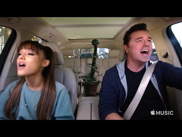 Carpool Karaoke: The Series — Ariana Grande Seth MacFarlane Preview — Apple Music