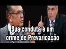 Procurador entra ao vivo na Tv Senado e desmascara Gilmar Mendes e STF