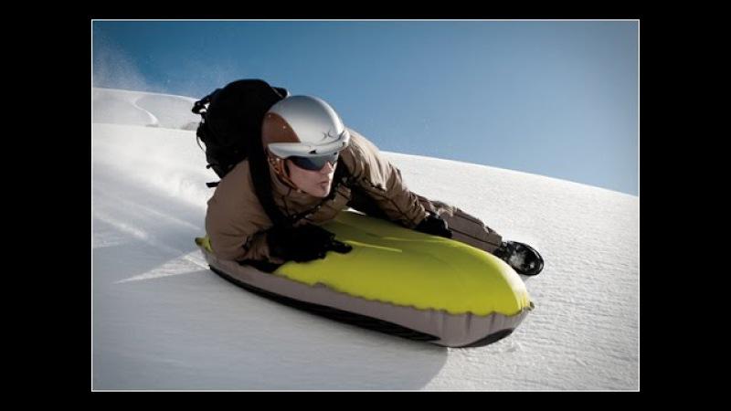 AirBoard (Аэроборд) - зимние надувные санки для скоростных спусков с гор Фрирайд