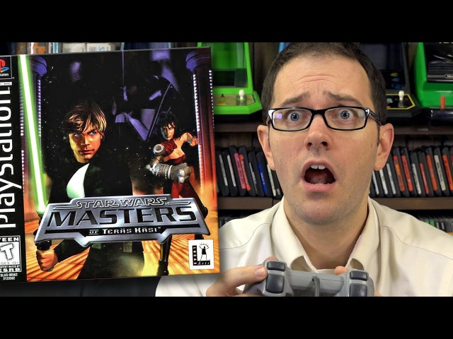Star Wars Masters of Teras Kasi PS1 Angry Video Game Nerd Episode 154