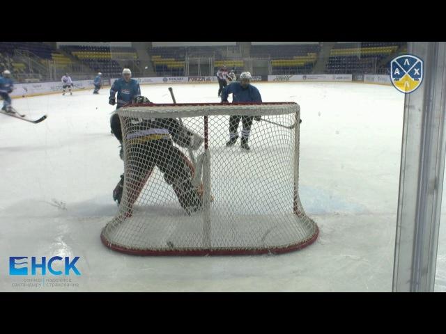 Видеообзор матча АЛХЛ Скорпионы - BI Almaty 6:9