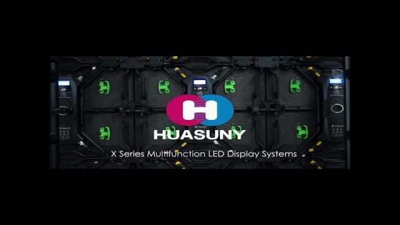 Huasuny High-end Seamless XPanel P2.9 P3.9mm Large LED Video Wall for Casino, Theater and TV Studio