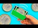 Магический кошелек своими руками ❤️ Волшебный фокус с монетой