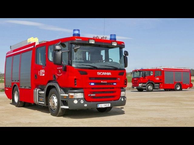 Scania P360 LB 42 Crew Cab MNB Rosenbauer AT HLF 2000 2011