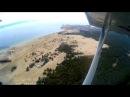 поселок Хужир остров Ольхон с высоты Olkhon island from the height