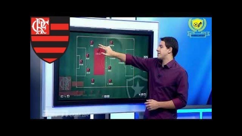 Comentarista Rafa Oliveira analisa nova formação do Flamengo no Campeonato Carioca 2018 -ESPN