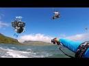 Kitesurfing with waterproof gimbal Feiyutech WG2