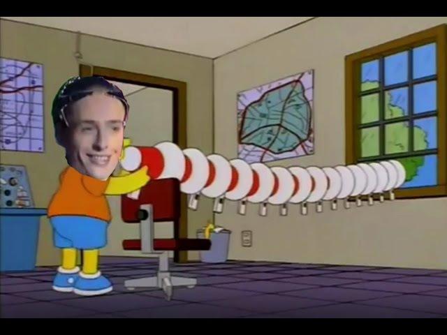 Bart Kills Everyone With Chum Drum Bedrum