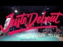 Juste Debout Germany 2018 Hip Hop 1:4 Final IV | Da Vibe Ukay vs Urban Innovaders (Slunch Kazim) | Danceprojectfo