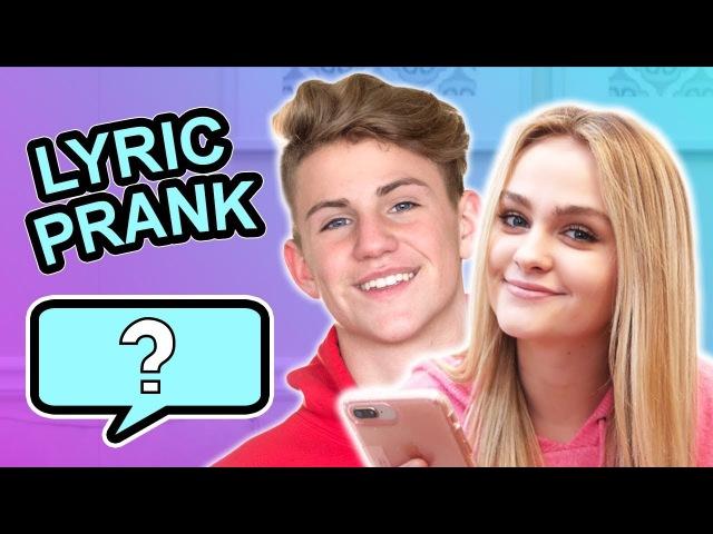 SONG LYRIC PRANK CONFESSION! (vs MattyBRaps) » Freewka.com - Смотреть онлайн в хорощем качестве