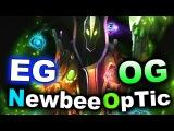 EG vs NEWBEE + OG vs OpTic - GREEN DAY 3 - BUCHAREST MAJOR DOTA 2