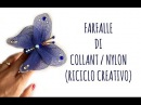 Come fare una FARFALLA con i COLLANT (Riciclo creativo) Arte per Te