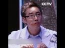 Нейрохирург Ма Чиюань продемонстрирует свое мастерство, зашив оболочку голубин...