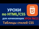 Основы HTML5/CSS3. Урок 11. CSS. Каскадные таблицы стилей