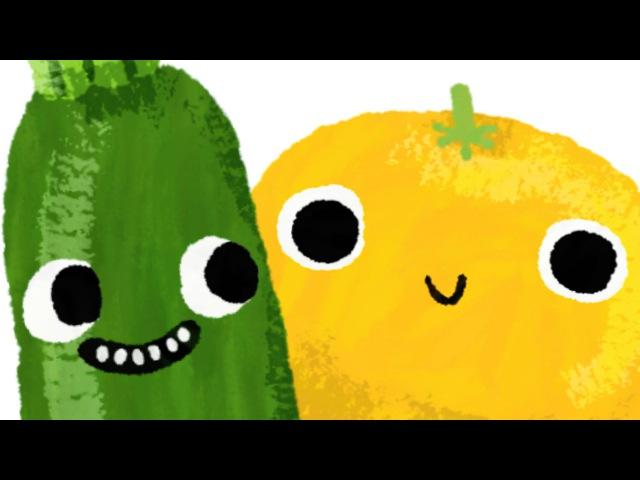 YZ * Fruit Alphabet for kids * Learn the Alphabet names of fruits * 9