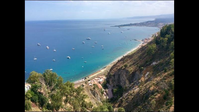 Сицилия. Я и Саша (полное видео)