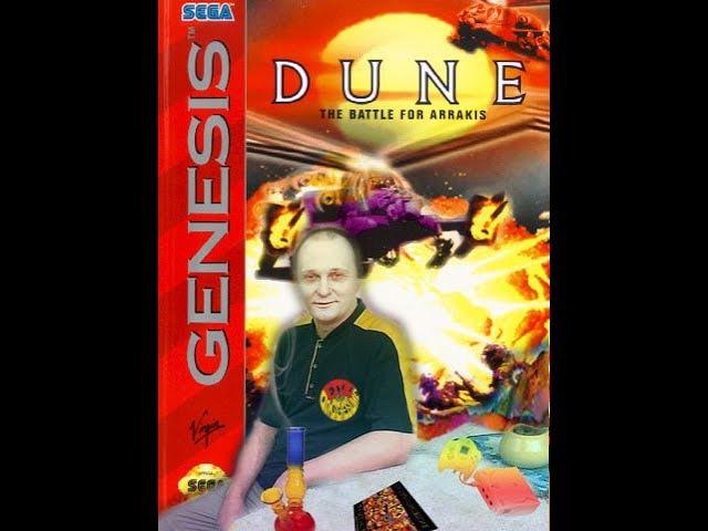 Sega mega drive 2 Dune The Battle for Arrakis Дюна Битва за Арракис Играю за Харконены Вячеслав