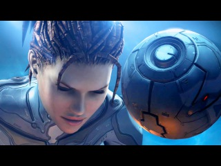 Raynor Visits Kerrigan at Research Station in Umojan Protectorate (Starcraft 2: Heart of the Swarm)