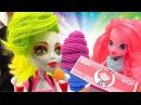Кулинарный PlayDoh! Сборник игр для девочек. Пластилин Вкусняшки из Плей До Куклы ...