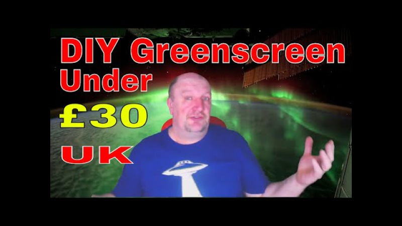 🎬 📹 DIY. Green Screen. Home made from Scratch for under £30...( UK )📹 🎬