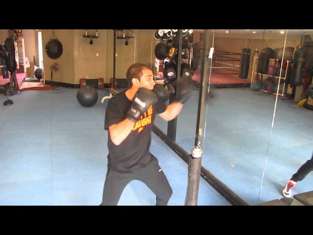 New Boxing Device at Golden Gloves Fitness
