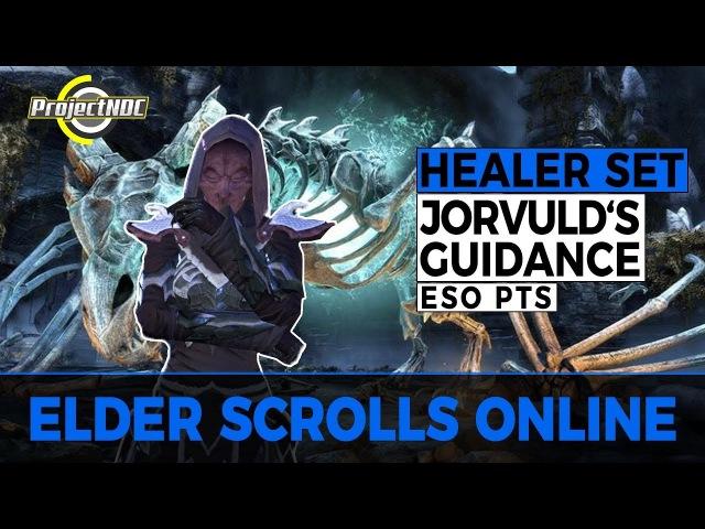 ESO - New Healer Set: Jorvuld's Guidance | New Meta? Dragon Bones DLC PTS (English)