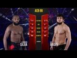 Ali Bagov vs Leandro Silva