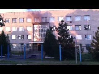 Расстрел отделения милиции в Лутугино