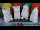 Гипсовые фигурки Работа с пластиковыми формами ХоббиМаркет