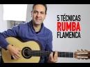 5 Técnicas para tocar RUMBA FLAMENCA (Jerónimo de Carmen TUTORIAL) Guitarraflamenca