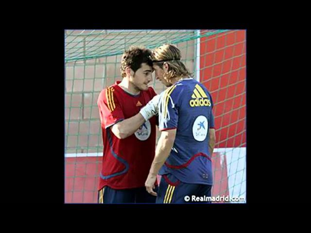 Iker Casillas Sergio Ramos - Seriker