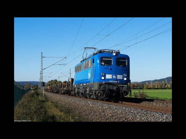 Güterzüge auf der Frankenwaldbahn - PRESS, TX Logistik, EGP 151er, Stock Voith Maxima uvm.