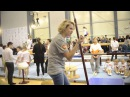 Светлана Хоркина на мастер-классе в Казани