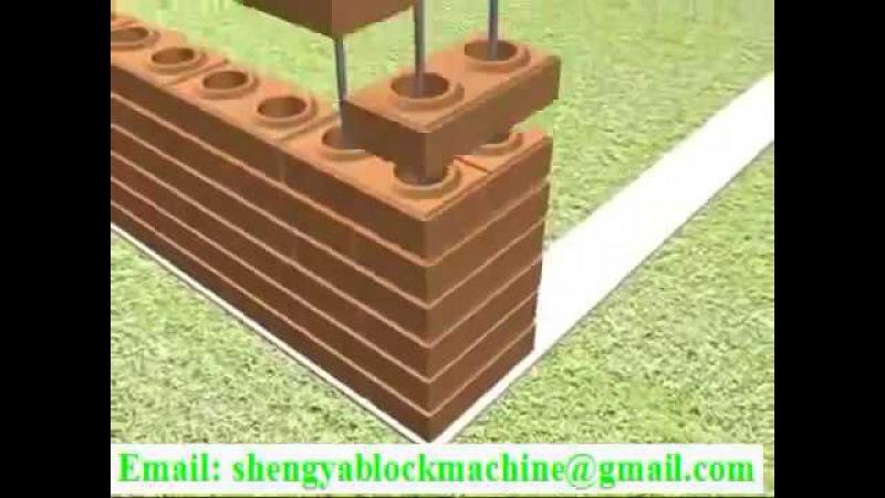 How to build house with interlocking brick lego block eco brava blocks