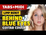 Limp Bizkit – Behind Blue Eyes (acoustic guitar cover with tabs and midi)