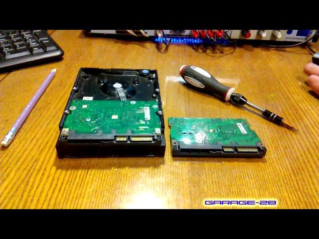HDD Мёртвее мёртвого... Добил жёсткий диск SEAGATE 500GB попытка восстановить данные
