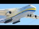 Antonov An 225.Самый большой в Мире Самолет. The biggest in the world AIRCRAFT An 225