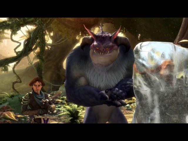 Jabberwocky - Game Cinematic unreleased - CGI Game Trailer - Studio Blur