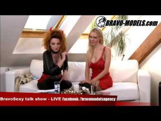 BravoSexy talk show 10/2017 se Sarah Star host FLORANE RUSSELL - porno actress