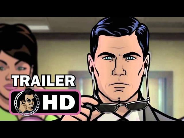 ARCHER: DREAMLAND - Season 8 Official Trailer Promo (2017) Animation Comedy Action FX HD