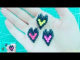 How to make 3d origami small heart 2