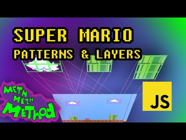 Code Super Mario in JS (Ep 9) - Background Patterns Layers