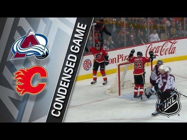 Colorado Avalanche vs Calgary Flames – Feb. 24, 2018 | Game Highlights | NHL 2017/18. Обзор